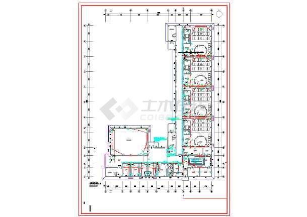 某区幼儿园电气设计图纸-图3