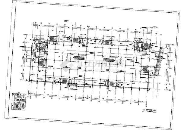 十层知名百货商场建筑设计图(高层办公娱乐)
