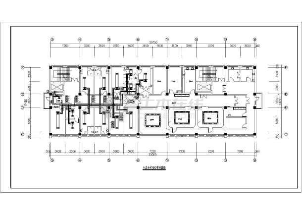 图纸手术室a图纸空调变更v图纸cad施工图(说明齐单景观设计通风医院图片