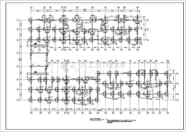 某地区多层框架结构住宅结构施工图