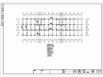 某小区临街6+1f底框结构结构设计图纸(附效果图)