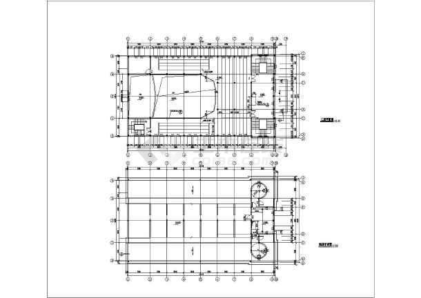 屋顶平面图,东立面图,西立面图,南立面图,北立面图,a-a剖面图,b-b剖面