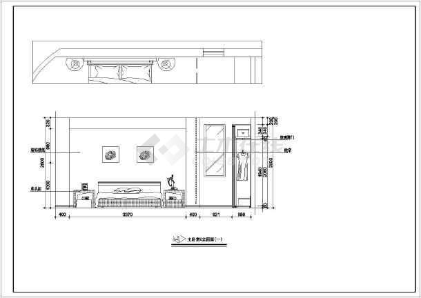 某地两室一厅一厨一卫装饰设计施工图(简装)