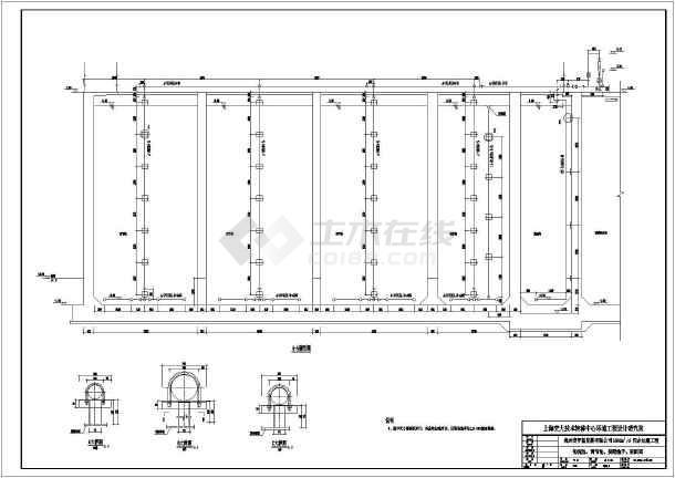 厌氧工艺处理高cod污水全套设计施工图图片