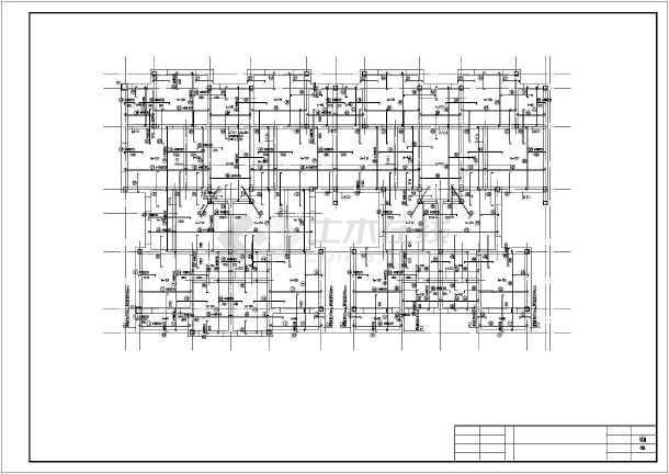 某地五层砌体结构住宅全套结构施工图