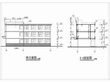框架结构教学楼施工组织设计图片
