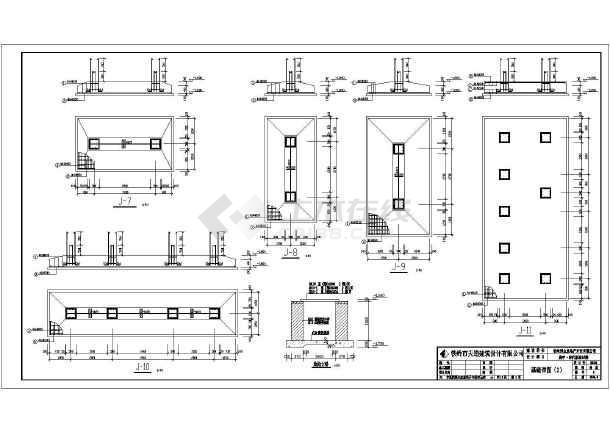某地区六层框架结构住宅房结构设计施工图
