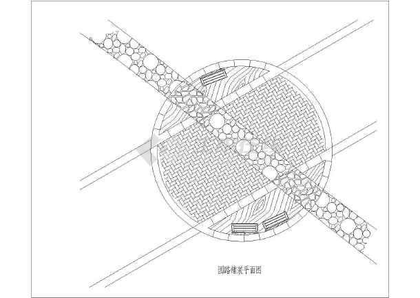 园林景观园路与广场铺装方案设计图集
