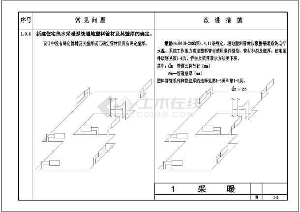 采暖系统图纸v图纸、泄水、膨胀水箱改进措施C管道减速机立磨图片