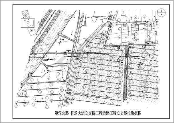 v图纸图纸20m混凝土简支空心板梁标准图(一级eps线条装饰公路图片