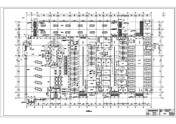 某地区二层钢结构汽车4s店建筑设计方案图