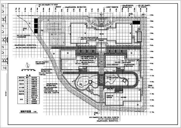 绿化设计图 某公寓居住小区绿化施工图及配套喷灌