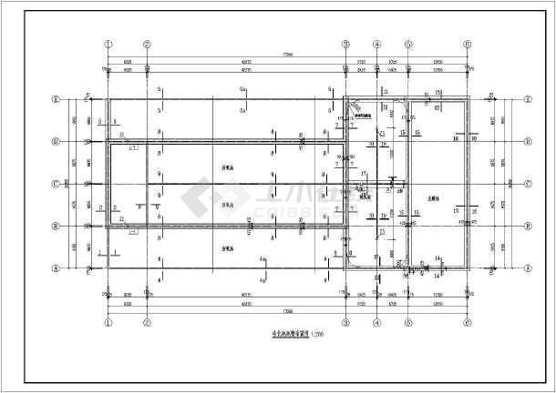 某地一套生化池钢筋混凝土结构施工图