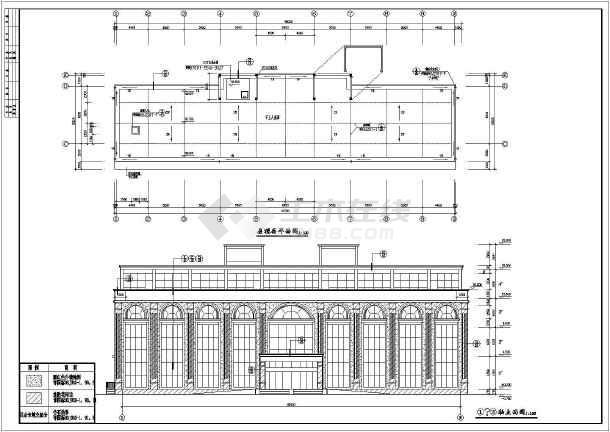 石狮市某公司四层欧式办公楼建筑设计方案