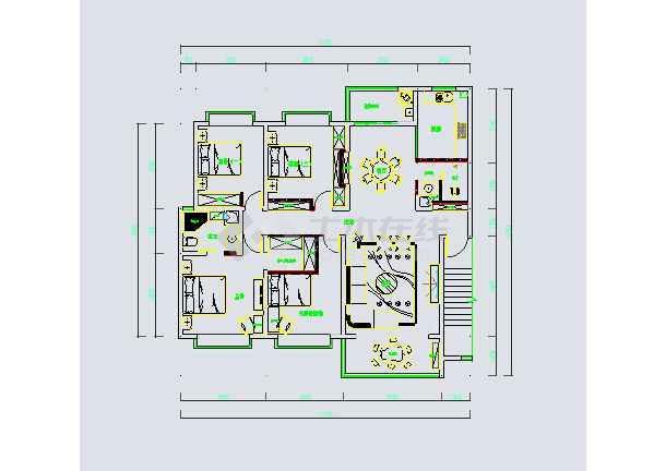 某三室两厅现代简约风格室内装修(含效果图)