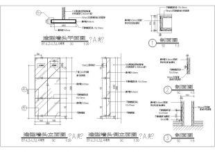 5款现代风格广告灯箱v风格施工图可以pdf压缩小点图纸吗汇总图片