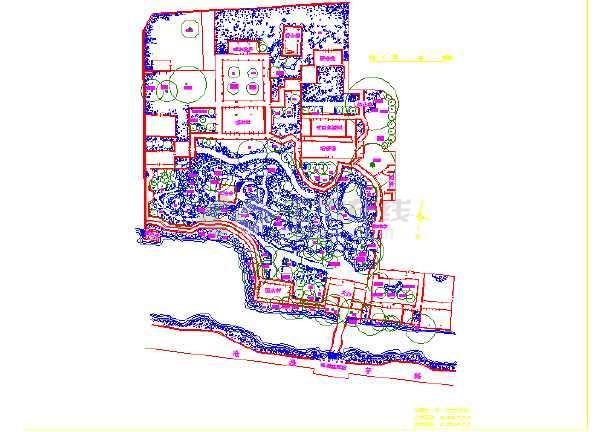 苏州园林平面图