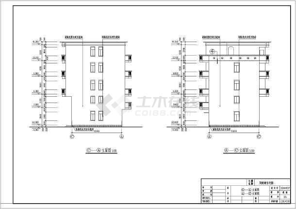 非常实用的一套四层私宅周记建筑CADv私宅设别墅建筑图纸pc深化图片
