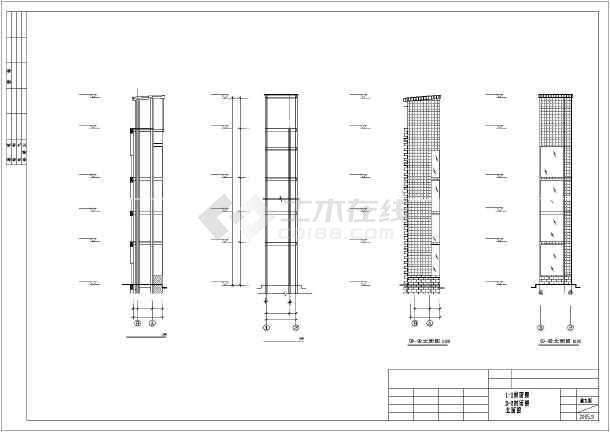 内容包含钢结构设计说明,标准层结构布置图,支撑图,屋面结构布置图