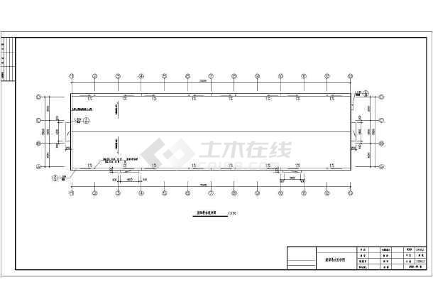 排架结构单层工业厂房排架结构设计钢结构全套图纸底框结构全套图纸