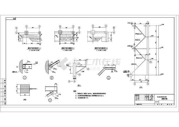 某地大型高炉结构v高炉框架图纸施工图_cad图3d重力拼图核反应堆图片