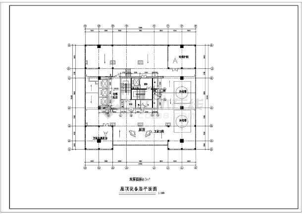 某小高层欧式风格酒店建筑设计图纸