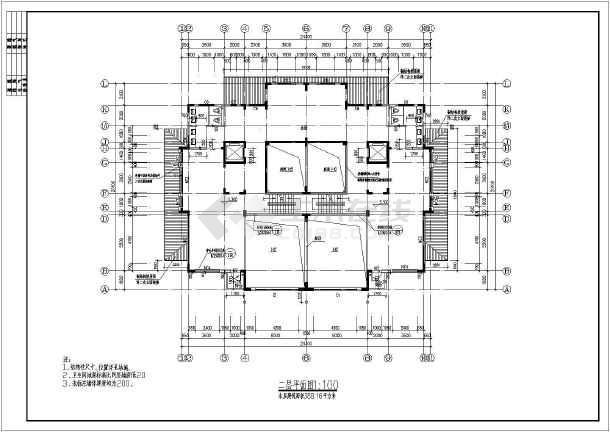 某地三层现代风格别墅建筑方案设计图