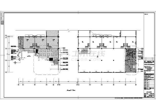 苏州四层框架结构酒店室内装修设计施工图