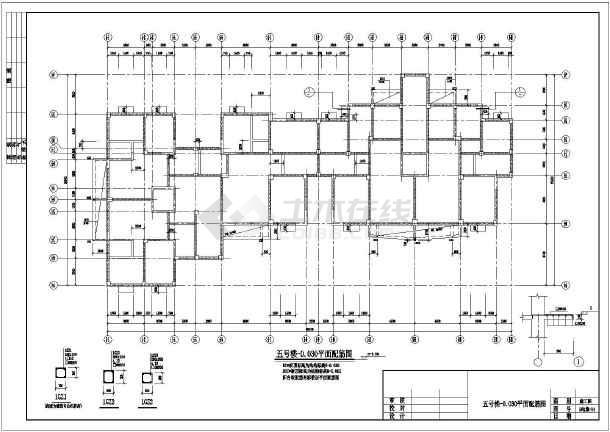 湖北某6度区12层框剪结构住宅结施图