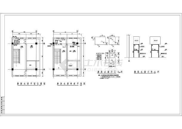 图纸厂房空调冷(热)水、消防电子及压缩空气_展览设计管道图片