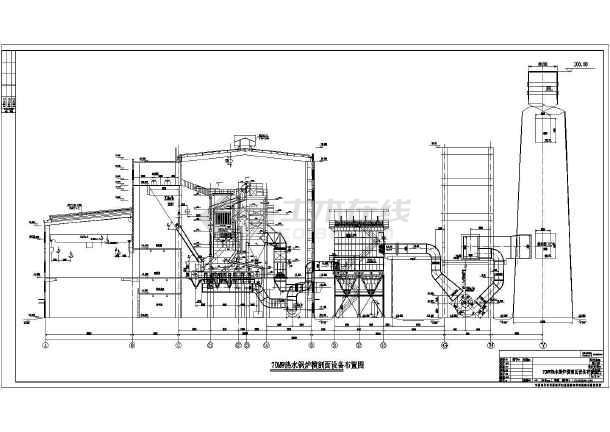 2台v锅炉流化床锅炉2台链条热水锅炉锅炉房六合无绝对必需房子装修请设计师嘛图片