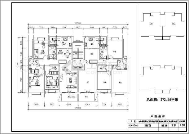 个人收集89-150平米多层户型设计图