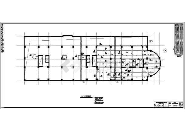 29层框架剪力墙结构酒店部分结构施工图,图纸包括:桩基础布置平面图