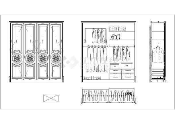 浙江某地区奢华玩具双层室内装修施工图,含效别墅房子别墅图片