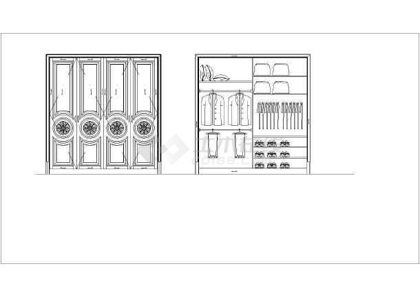 浙江某地区奢华别墅别墅室内装修施工图,含效双层轻工武汉图片
