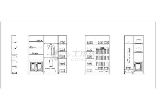 浙江某地区奢华农村别墅室内装修施工图,含效1010小双层别墅经济型图片