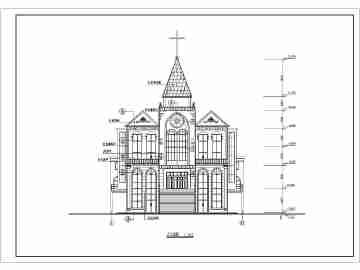 教堂设计平面图