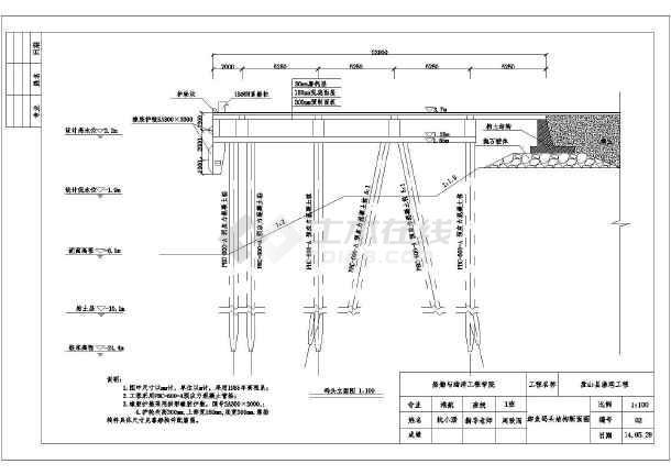 图纸团结水库加固工程初步设计水库加固工程初步设计电厂初步设计公路