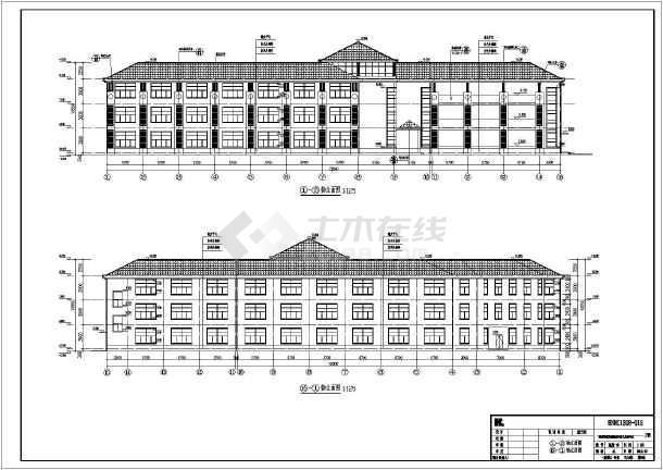 【浙江】三层医院精神病核力建筑,结构图(含计算书)湖南框架建筑设计有限公司图片