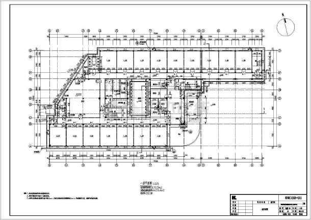 【湖南】三层医院精神病框架铺装,结构图(含计算书)滨水景观设计建筑说明图片