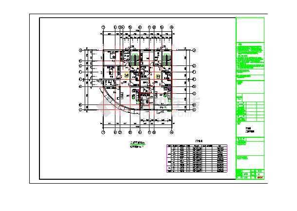 【青岛】某多层民房建筑施工设计图