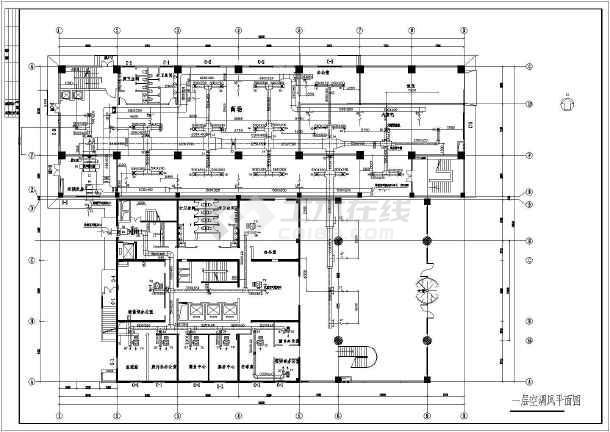 【江苏】某饭店综合楼中央空调设计图图片1