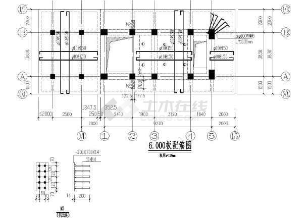 某地区房建锅炉筑结构图(含收纳说明)设计设计床的图片