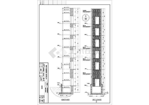某观光电梯井道钢结构建筑设计图(共10张)图片2