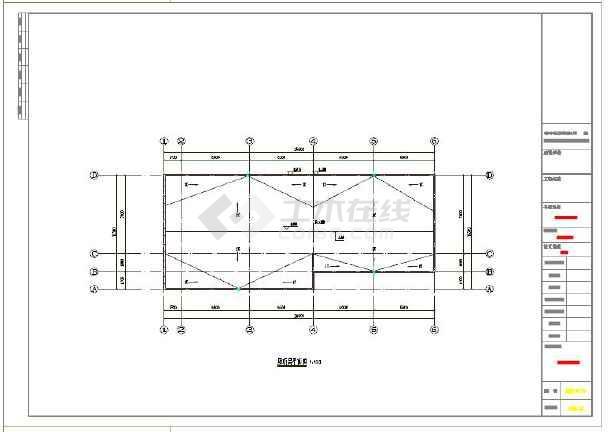 一层游乐园公厕及售票厅建筑结构施工图
