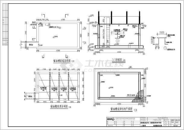 某船用柴油机厂设备基础部分v设备常用_cad图2012cad字体下载图纸图片
