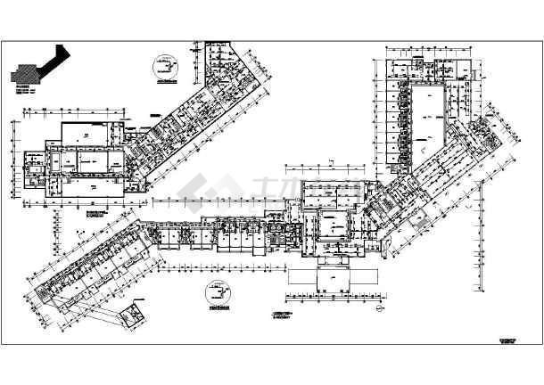 设计)  宾馆,酒店(酒店建筑)  某三层砖混结构度假酒店给排水消防施工