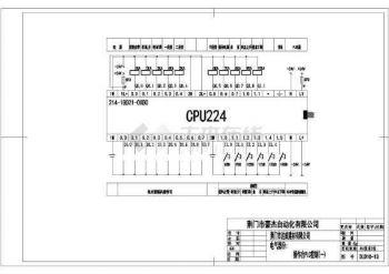 【二次原理图】石灰窑自动化原理管线设计施工的计算图纸简易工程量图片
