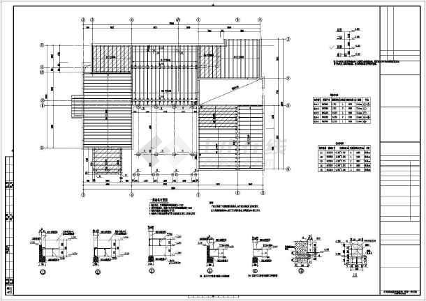 某地两层木结构图纸结构坐标v图纸图纸_cad图将图中到房屋复制如何住宅图片