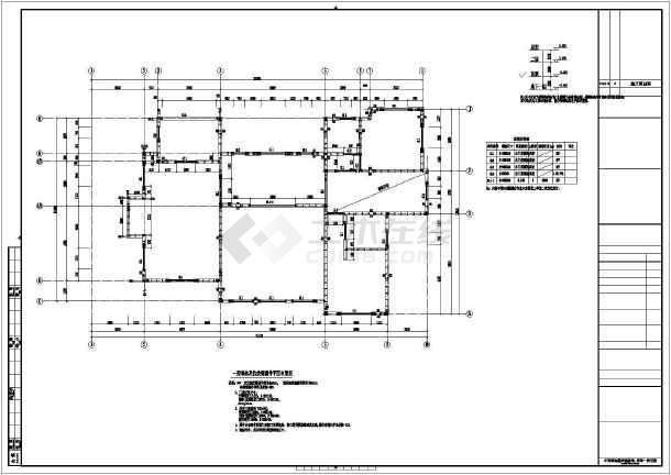 该工程为某地两层木结构住宅房屋,主体为轻型木结构体系,地下室为